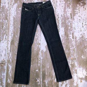 Diesel Liv Dark Wash Stretch Jeans Skinny 27